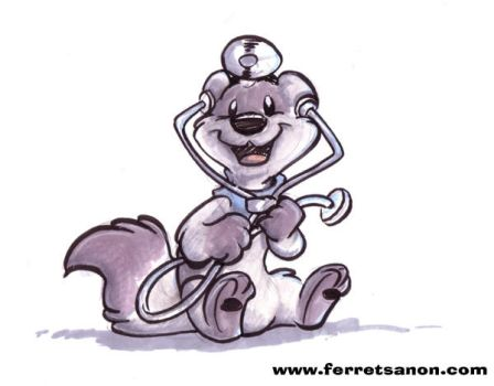 Doctor Ferret by Ozzy-Marten