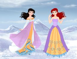 Ariel's Daughters by M-Mannering