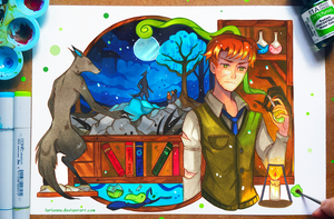 +HP - Remus Lupin+ by larienne