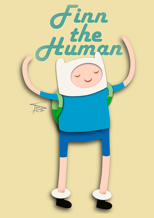 Finn - The Human by tirmesaito