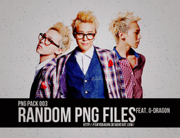 PNG Pack 003 - Gdragon by fanydragon