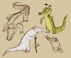 Croc concepts by Frozenspots
