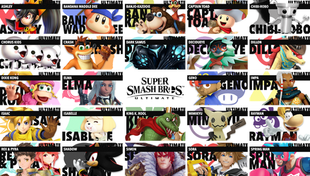 Smash Bros. Ultimate Icons by Pixiy