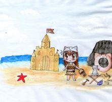 MoE : Sand Castle Event by DeanaHere