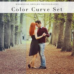 Color Curve Set - Photoshop Actions by Whimsical-Dreams
