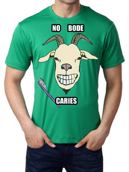 Camiseta No Bode Caries by 98inalu-X