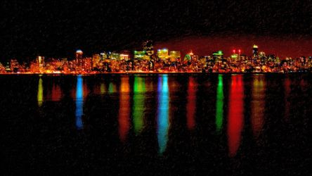 Vancouver Cityscape by montag451