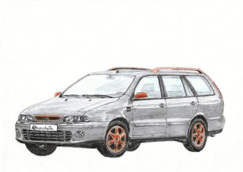 Fiat Marea Weekend by PaperGarage