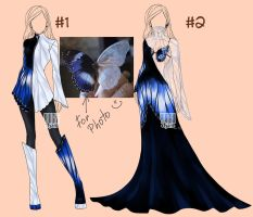 [closed]  Outfits for photo (157-158) by YuiChi-tyan