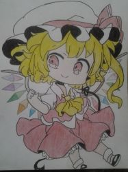 touhou : flandre scarlet by Dark-Dragon-Knight1