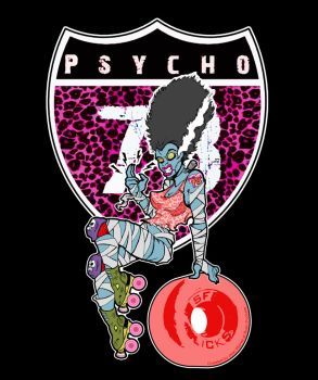 Bride of the Psycho 78s by jEANd-mICHEL