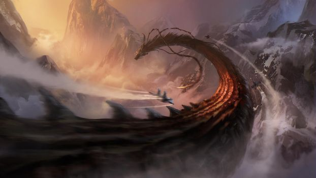 Chasing Dragon by Lac-Tic