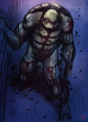 Wounded Raphael from mnt gaiden by sombermun