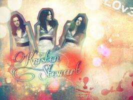 kristen stewart WALLPAPER by jessy-izan
