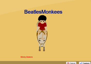 Micky Dolenz Monkees Avi HorseIsle2 by iwildaydreambeliever