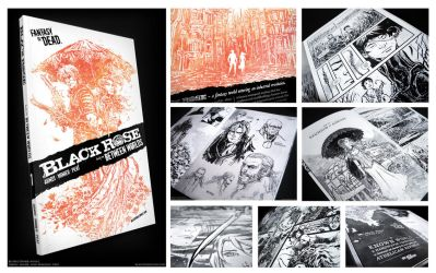 BLACK ROSE Vol. 1 Preview! by aaronminier