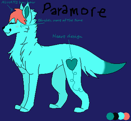 Paramore little ref thingy... idk by LoveIsForeverAlways