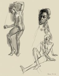 Some Quick poses by FUNKYMONKEY1945