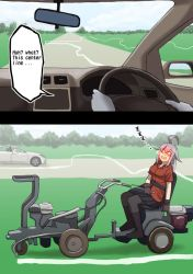 Gangut to improve the road by misumi-illustration