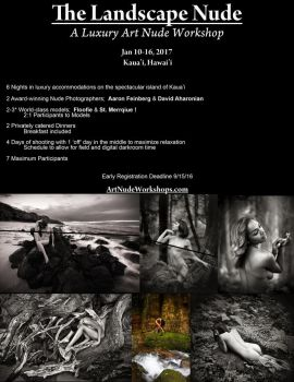 The Landscape Nude - A Luxury Art Nude Workshop by aFeinNude