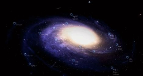 Interactive Galaxy map for RPG by never-over-strange