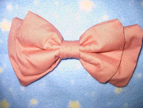 Dusty Rose Small Headbow by SweetBeeps