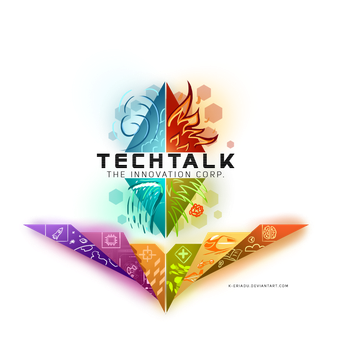 Tech Talk Innovations Logo by TechTalkPony