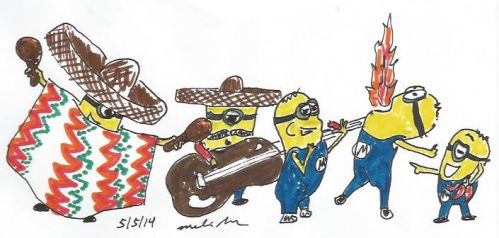 Cinco De Minion by BoogieBoyLock