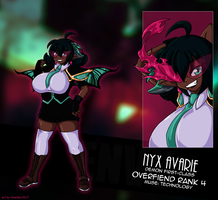 introducing:. nyx avarie! by tlwelker