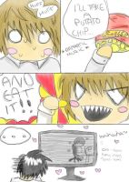 Death Note: Potato Chip by Harnikawa