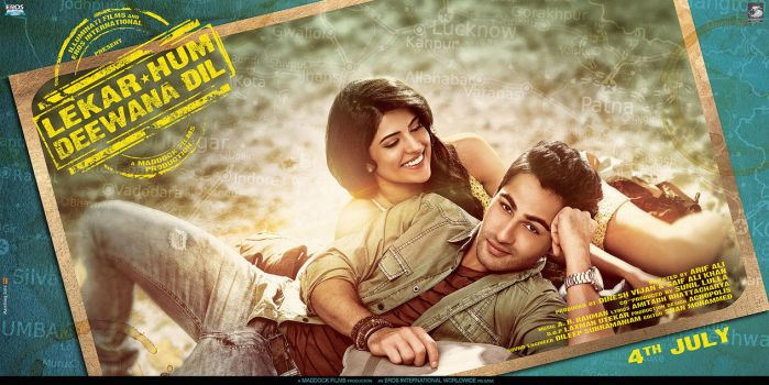 horizontal poster for 'LEKAR HUM DEEWANA DIL' by metalraj