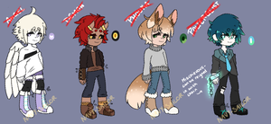 Mythical Adopts [CLOSED] by Navy-Sailor