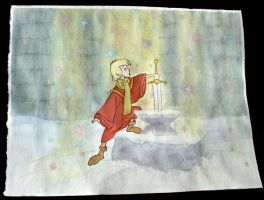 Sword in the Stone by jetta26
