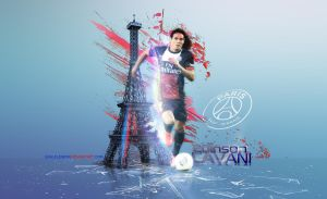 Edinson Roberto Cavani Gomez Wallpaper by eaglelegend