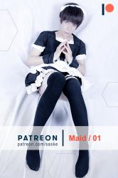 Shinji Maid by Smexy-Boy