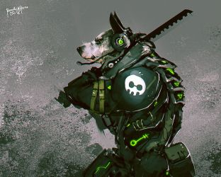 Dog Tag by benedickbana