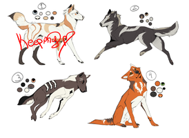 Wolf Designs | Batch One [OPEN] by Sparkanine