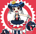 Princess Chain Chompette by ScarletDestiney