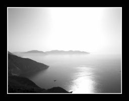Sky, Mountains and Sea by milleniumsis