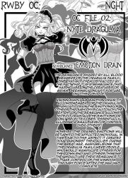 Manga Bio Page: Nyte by AnonymousBlank
