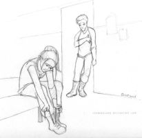 Divergent - Tris and Four by leabharlann