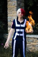 Shouto Todoroki (My Hero Akademia) - Never forget by Snowblind-Cosplay