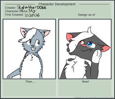 Character Development Meme by skyfeather0066