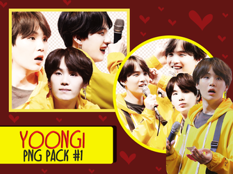 Yoongi Pack PNG by Taeing