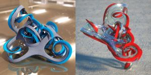Wings 3D mobius cluster recipe by davidbrinnen