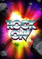 Rock On Poster by bendenhartog