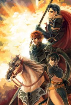 FE7 rgb lords by SpaceSmilodon