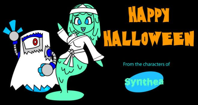 Synthea Halloween by KingMonster