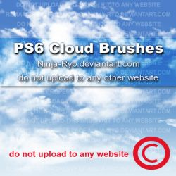 PS6 BRUSHES - Clouds by Ninja-Ryo
