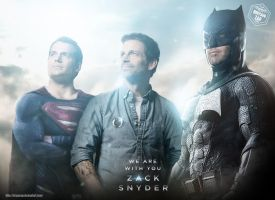 We are with you Zack Snyder by Bryanzap